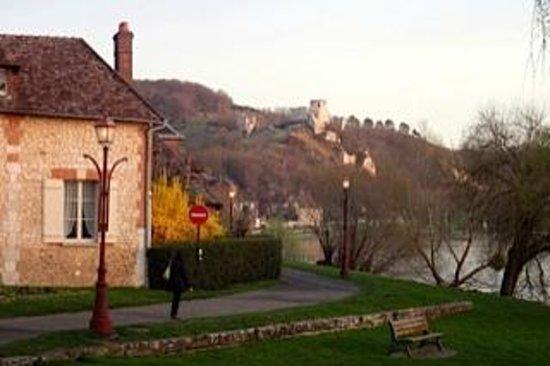 La Canotiere : Chateau Gaillard and Petit Andelys