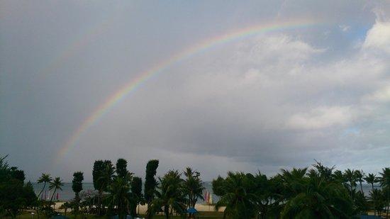 Fiesta Resort & Spa Saipan: Дождь прошел
