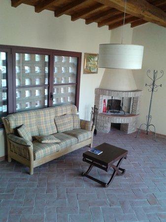 Villa i Laghi: il salone