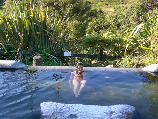 Waikite Valley Thermal Pools: Le vasche
