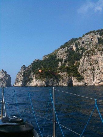 Capri Boats : Вилла Малапарте
