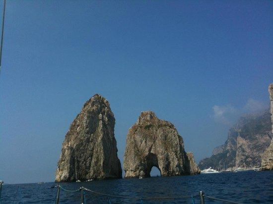 Capri Boats : Faraglioni
