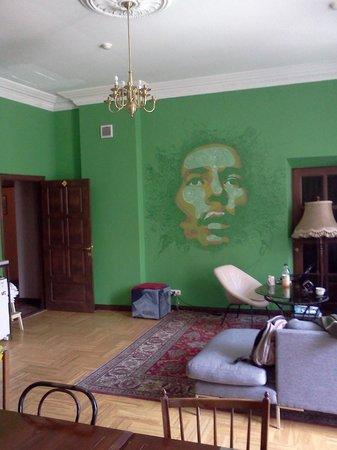 Jamaika Hostel: Common room