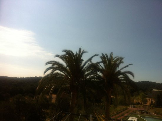 Sant Pere del Bosc Hotel & Spa: View from my window