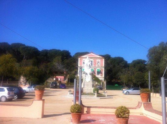 Sant Pere del Bosc Hotel & Spa : Hotel territory