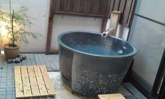 Ishinoie: 露天風呂 天然温泉
