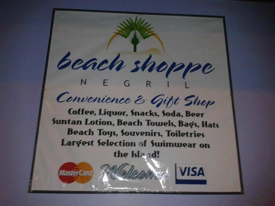Beach Shoppe Negril: We have all of your beach supplies