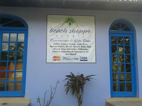 Beach Shoppe Negril: We have a wide selection and best prices.Our manager, Bancroft, will take care of your needs