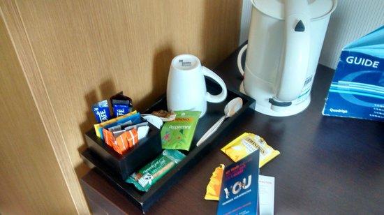 Novotel Edinburgh Park: Tea/coffee