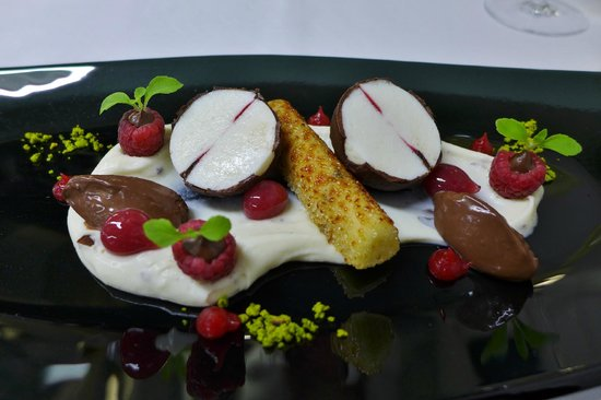 Restaurant Villers: Dessert-Kreation