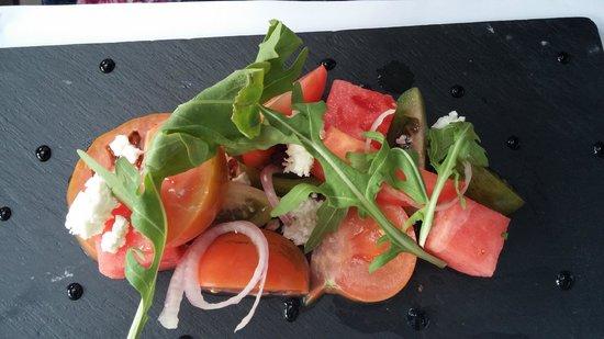 The Halia at Singapore Botanic Gardens: Tomato Salad ;-)