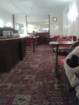 Mackay's Hotel: breakfast dinning room