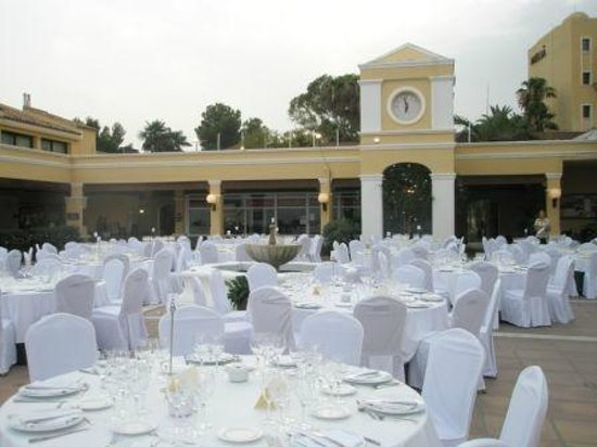 La Quinta Golf & Country Club : Lovely Terrace for Venues