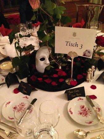 Schloss Hotel Kronberg: Thementisch Phantom der Oper