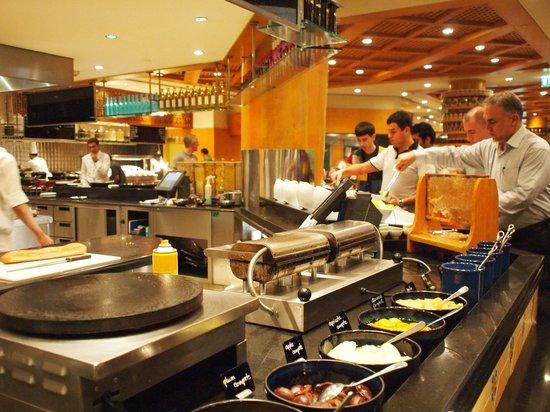Grand Hyatt Dubai : Breakfast