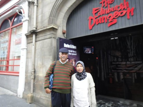 The Edinburgh Dungeon : ediburgh dungeon
