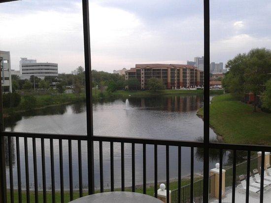 Westgate Lakes Resort & Spa: Vista da Sacada do quarto