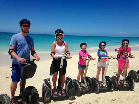 Segway Antigua Tours : Antigua Segway tour March 2014