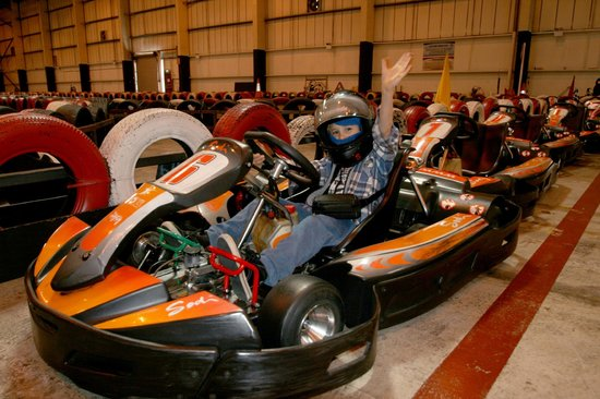 Skidz Karting: If you are over 8 you can go in one of these, but the electric kids kartz are great for younger