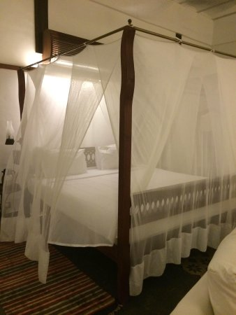 The House of MG : Canopied bed