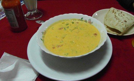 Pupuseria Salvadoreno: seafood soup