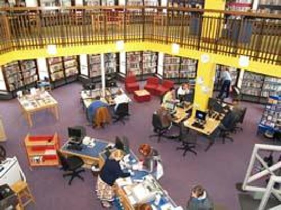 Coleraine Library - Interior