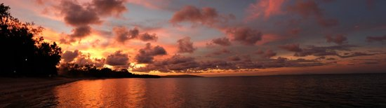 Pondok Wisata Pantai Cemara : Sunset at Pondok Wisata