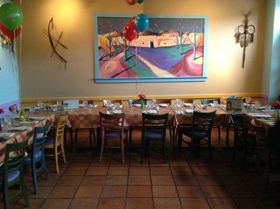 Santa Fe Restaurant: Room set up