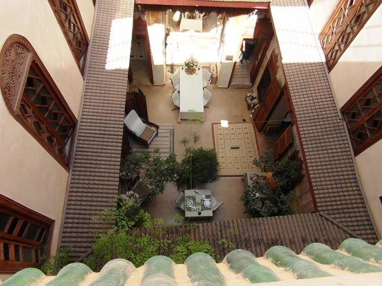 Riad Dar Zahia: b. A view from the roof.