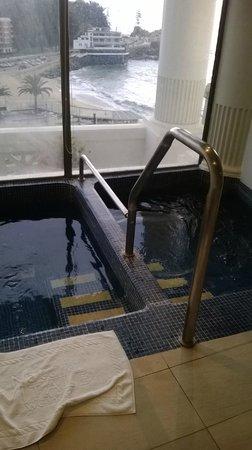 Hotel del Mar - Enjoy Vina del Mar - Casino & Resort: hidromasaje (frío y caliente)