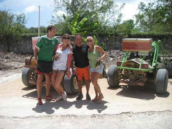 Xtreme-Buggy - Day Tours : whole gang for the day.  most groups are a little bigger but not much!