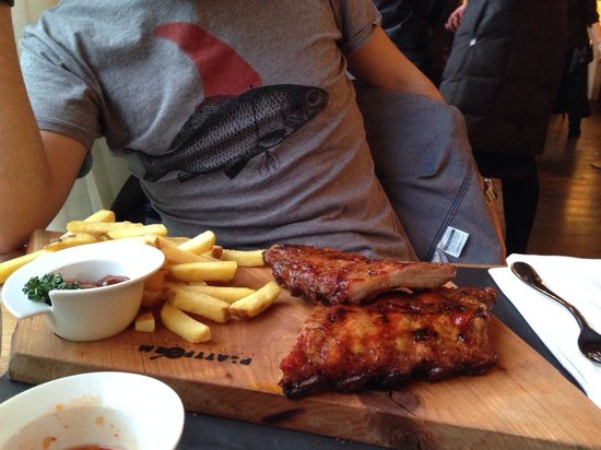 Plattform Restaurants: Spare Ribs