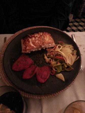 Meson Restaurante La Mi Venta : Bacalao a la plancha