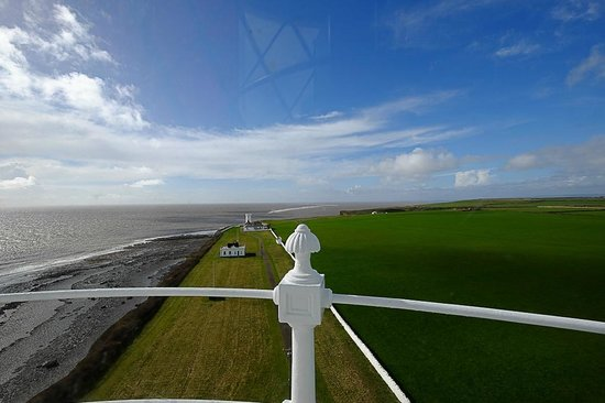 Nash Point Lighthouse: View from the top!