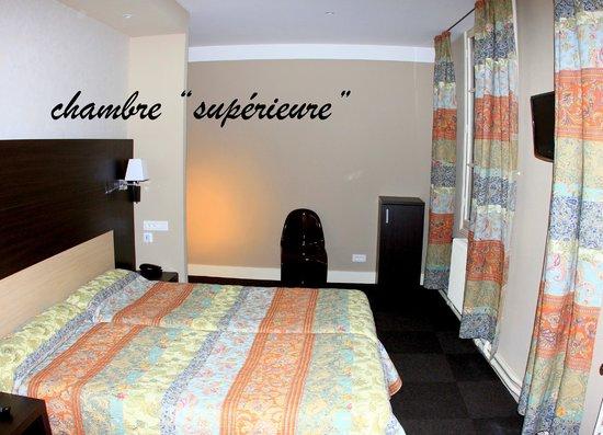 """Hotel Restaurant de la Basilique : nos chambres """"supérieures"""" à Paray le Monial"""