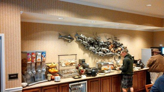 Best Western Plus Easton Inn & Suites: Easton Best Western Plus Breakfast Area