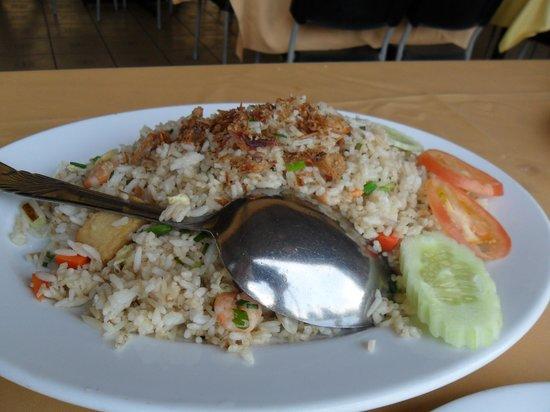 Orkid Ria Seafood Restaurant: arroz frito á oriental