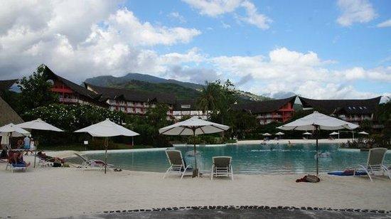 Le Meridien Tahiti: Pool