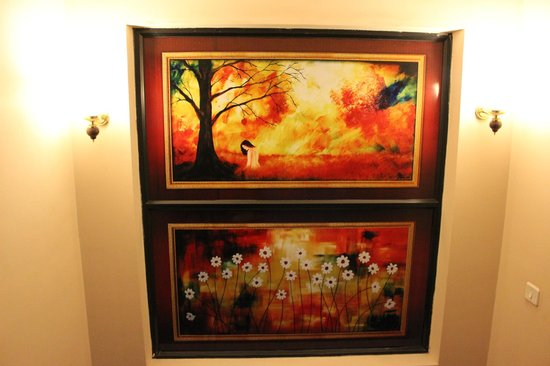 Bellmount Resorts: Staircase Paintings