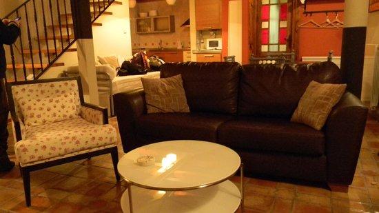 Apartamentos Senorio de Haro: living
