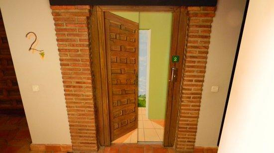 Apartamentos Senorio de Haro: puerta