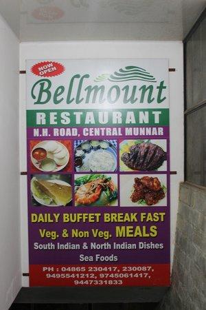 Bellmount Resorts: Restaurant