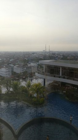 Mercure Banjarmasin: the view from my suite... just wow..