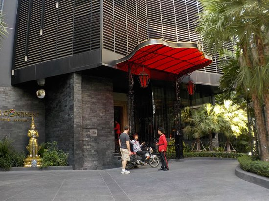 The Continent Hotel Bangkok by Compass Hospitality: vista hotel