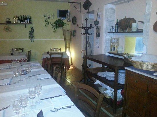 Ambasciata d'Ortigia: Sala piccola