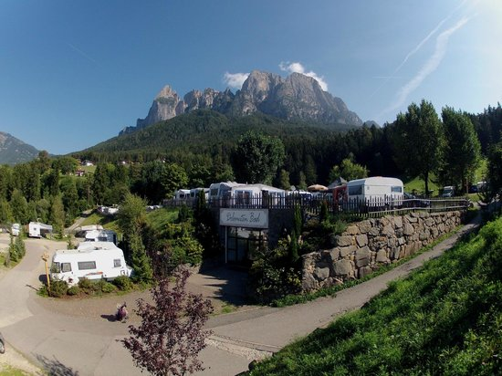 Fie allo Sciliar, İtalya: Campingelände