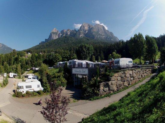 Fie allo Sciliar, Italy: Campingelände