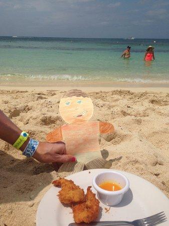 Mr Sanchos Beach Club Cozumel: coconut shrimp