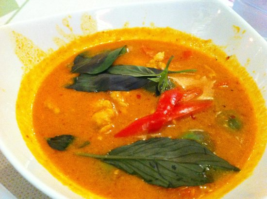Ruenmayura Hostel : Red curry