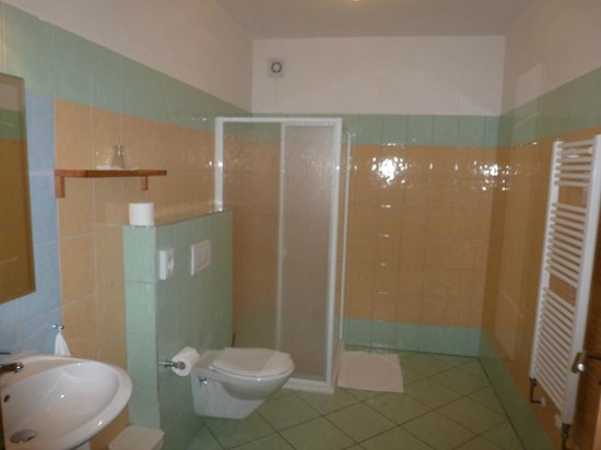 Penzion Solnice: bathroom